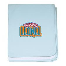 The Amazing Leonel baby blanket