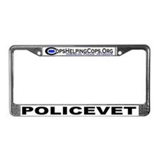 Cops Helping Cops License Plate Frame