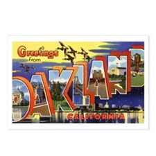 Oakland California Greetings Postcards (Package of