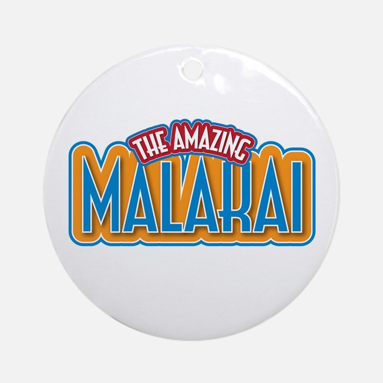 The Amazing Malakai Ornament (Round)