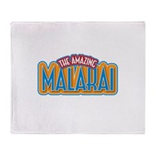 The Amazing Malakai Throw Blanket