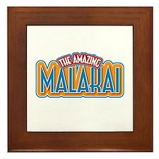 The Amazing Malakai Framed Tile