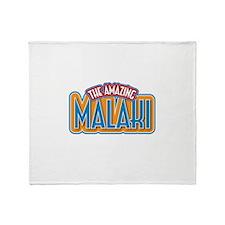 The Amazing Malaki Throw Blanket