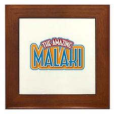 The Amazing Malaki Framed Tile