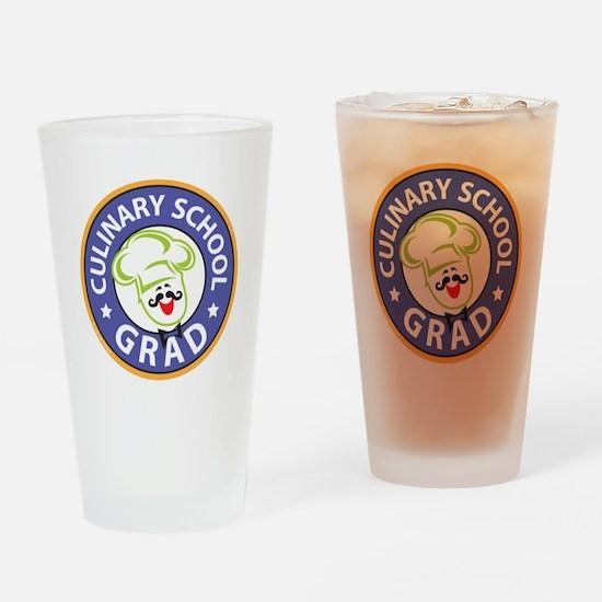 Culinary School Grad Drinking Glass