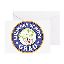 Culinary School Grad Greeting Card