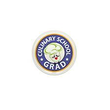 Culinary School Grad Mini Button