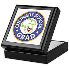 Culinary School Grad Keepsake Box