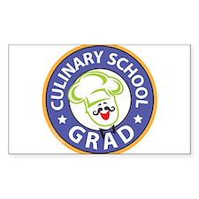Culinary School Grad Decal