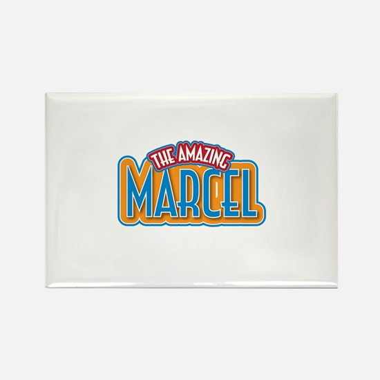The Amazing Marcel Rectangle Magnet