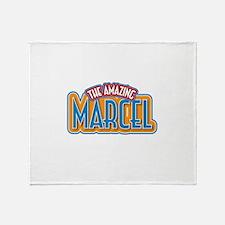 The Amazing Marcel Throw Blanket