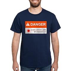 DANGER Navy T-Shirt