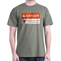 DANGER Military Green T-Shirt