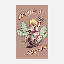 Keepin' It Austin Decal