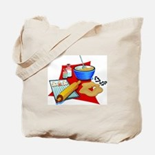 Baking Christmas Cookies Tote Bag