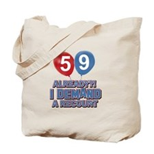 59 years birthday gifts Tote Bag