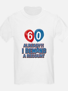 60 years birthday gifts T-Shirt