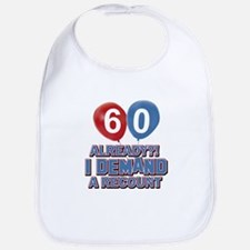 60 years birthday gifts Bib