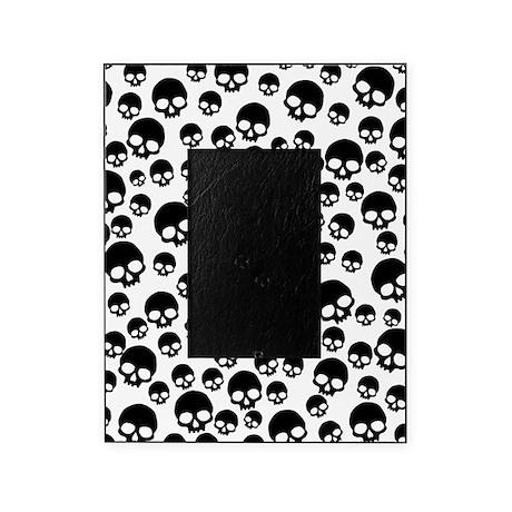 Random Skull Pattern Picture Frame