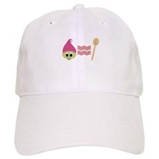 Troll Bacon Spoon Baseball Baseball Cap