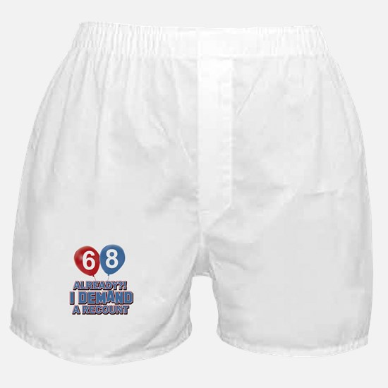 68 years birthday gifts Boxer Shorts