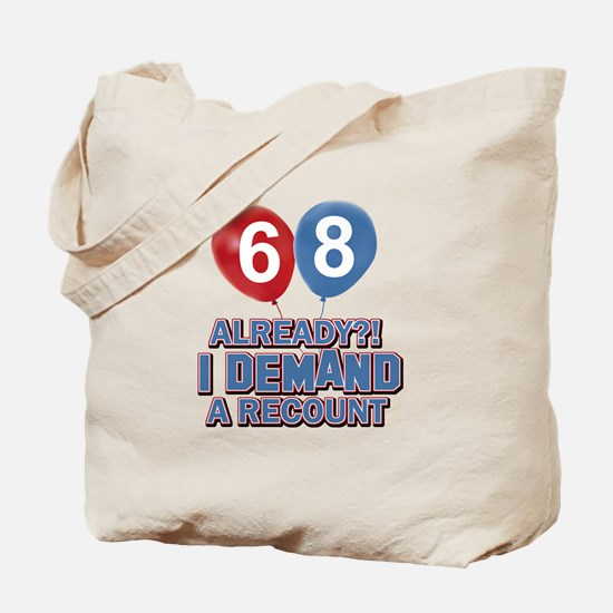 68 years birthday gifts Tote Bag