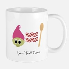 Troll Bacon Spoon Mug
