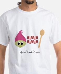 Troll Bacon Spoon T-Shirt