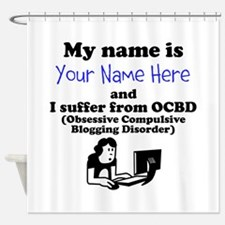 Custom Obsessive Compulsive Blogging Disorder Show