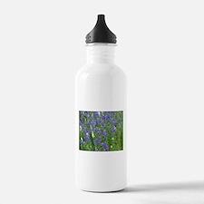 Texas Bluebonnets in Bloom Water Bottle