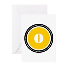 Yellow Greeting Cards (Pk of 20)