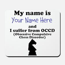 Custom Obsessive Compulsive Chess Disorder Mousepa