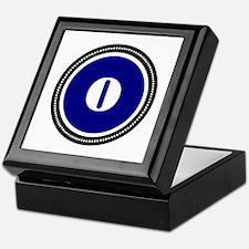 Blue Keepsake Box