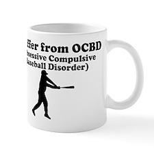 Obsessive Compulsive Baseball Disorder Mug