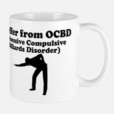 Obsessive Compulsive Billiards Disorder Mug