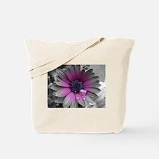 Wonderful Flower with Waterdrops Tote Bag