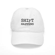 shift happens... Baseball Cap