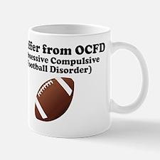 Obsessive Compulsive Football Disorder Mug