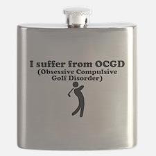 Obsessive Compulsive Golf Disorder Flask