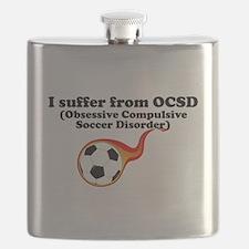 Obsessive Compulsive Soccer Disorder Flask