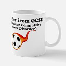 Obsessive Compulsive Soccer Disorder Mug