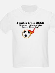 Obsessive Compulsive Soccer Disorder T-Shirt