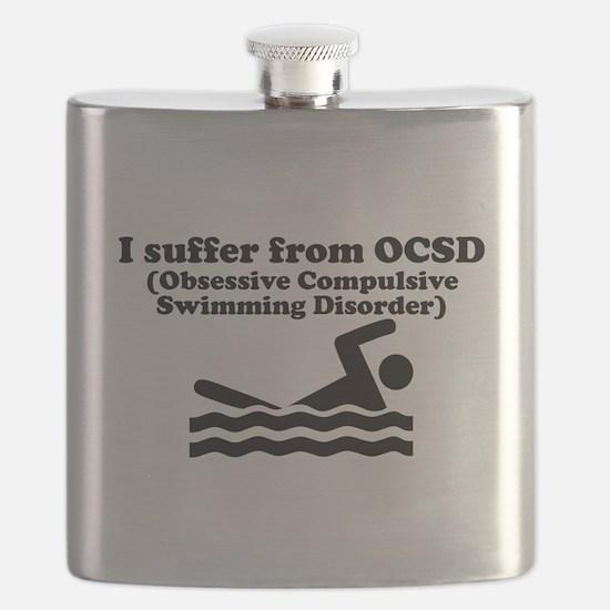 Obsessive Compulsive Swimming Disorder Flask