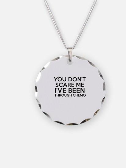 Cancer survival designs Necklace Circle Charm