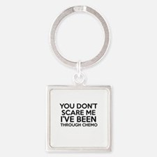 Cancer survival designs Square Keychain