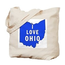 I LOVE OHIO Tote Bag