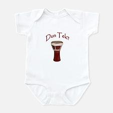Dun Tek Red Infant Bodysuit