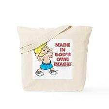 God's Image! Tote Bag