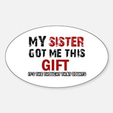 Cool Sister Designs Decal