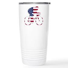 U.S.A. Cycling Travel Mug